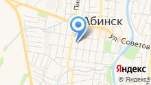 Отдел Военного комиссариата Абинского района на карте