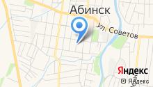 Абинский комплексный центр социального обслуживания населения, ГБУ на карте