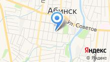 Мировые судьи Абинского района на карте