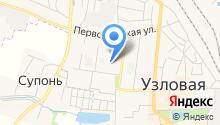 Межрайонная инспекция Федеральной налоговой службы России №1 по Тульской области на карте