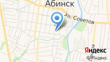 Отдел судебных приставов по г. Абинску на карте