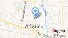 Районный отдел внутренних дел по Абинскому району на карте