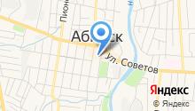 Абинскэнергосбыт на карте