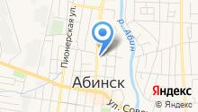 Абинский районный суд на карте