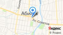Абинск оптика на карте