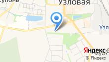Муниципальный Фонд поддержки малого и среднего предпринимательства Узловского района на карте