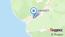 Джанхот на карте