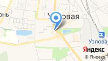 Отряд ФПС №7 МЧС России по Тульской области на карте