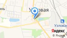Отдел надзорной деятельности по Узловскому району на карте