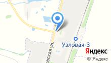 Шиномонтажная мастерская на Дубовской на карте