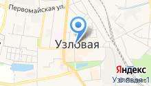 Мировые судьи Узловского района на карте