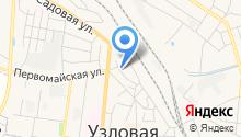 Сауна на Толстовской на карте