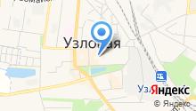 Узловская стоматологическая поликлиника на карте
