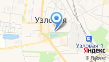 Узловская городская центральная библиотека на карте