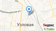 Узловское районное потребительское общество на карте