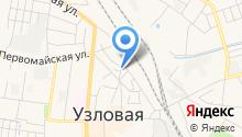 Отдел Военного комиссариата Тульской области по Узловскому району на карте