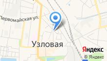 Узловская межрайонная прокуратура на карте