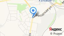 Управление Федеральной службы РФ по контролю за оборотом наркотиков по Тульской области на карте