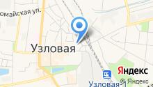 Следственный отдел по г. Узловая на карте