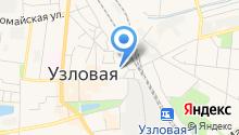 Инспекция гостехнадзора Узловского района на карте