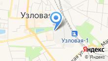 Узловская районная больница на карте