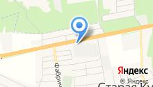 Сандра Металлург на карте