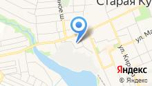 Расчетный Купавинский Центр на карте