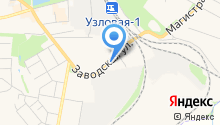 Магазин бытовой химии на карте