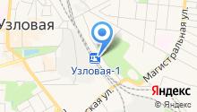 Узловая-1 на карте