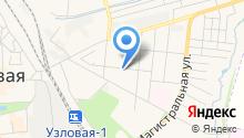 Алексеевская на карте