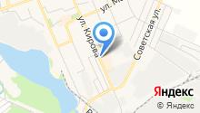 Луи на карте