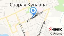 Старокупавинская городская похоронная служба на карте
