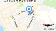 Развлекательный центр на карте