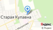 Турион на карте