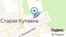 Сауна на Больничном проезде на карте