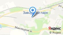 НовоПак на карте