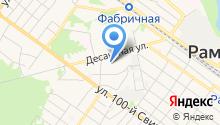 Раменский комплексный центр социального обслуживания населения на карте