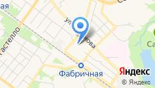 Сафоновский промкомбинат, ЗАО на карте