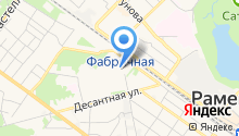 Раменский дом учителя на карте