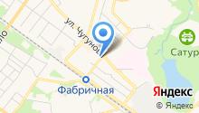 Фабрика суши на карте