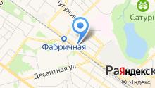 Центр подготовки и развития массажистов на карте
