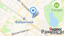 Межмуниципальное управление МВД России Раменское на карте