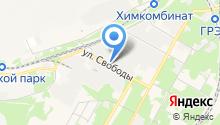 Аэрозоль Новомосковск на карте