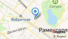 Раменский политехнический техникум на карте