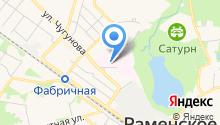 Центральная районная поликлиника на карте