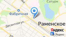 Раменскоехлеб на карте