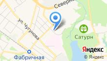 Раменский психоневрологический диспансер на карте