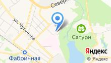 Борисоглебский на карте