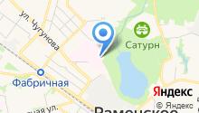 Станция скорой медицинской помощи на карте