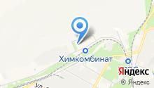 Новомосковск-10 на карте